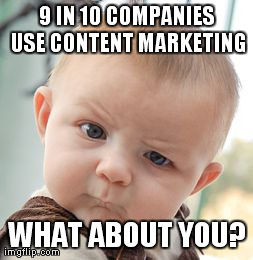 9 in 10 Companies Use Content Marketing