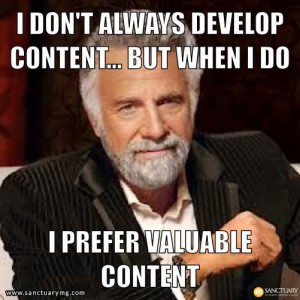 Develop Valuable Content Marketing