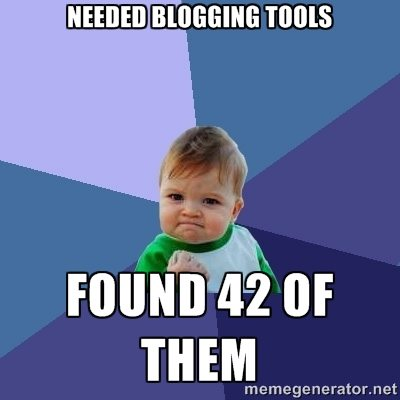 Need Blogging or Content Marketing Tools?